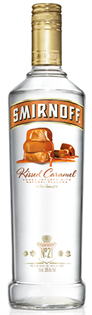 Smirnoff Vodka Kissed Caramel 1.00l